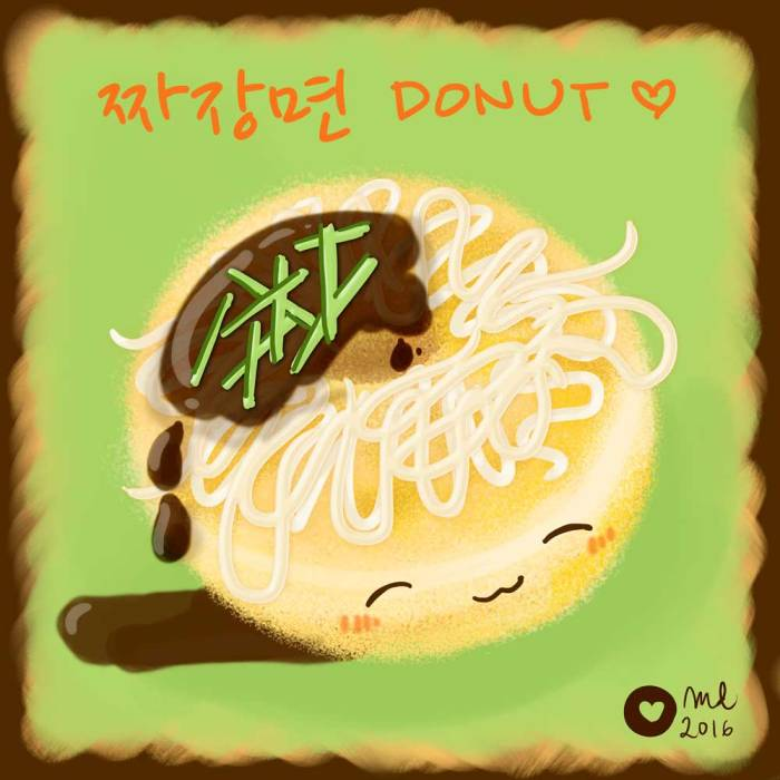 DonutSketch_jjajangmyun_flavorfriday2
