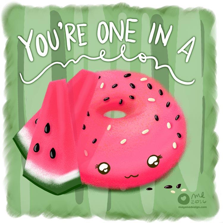DonutSketch_FlavorFriday_Watermelon