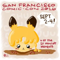 SF Comic Con, Sept 2-4