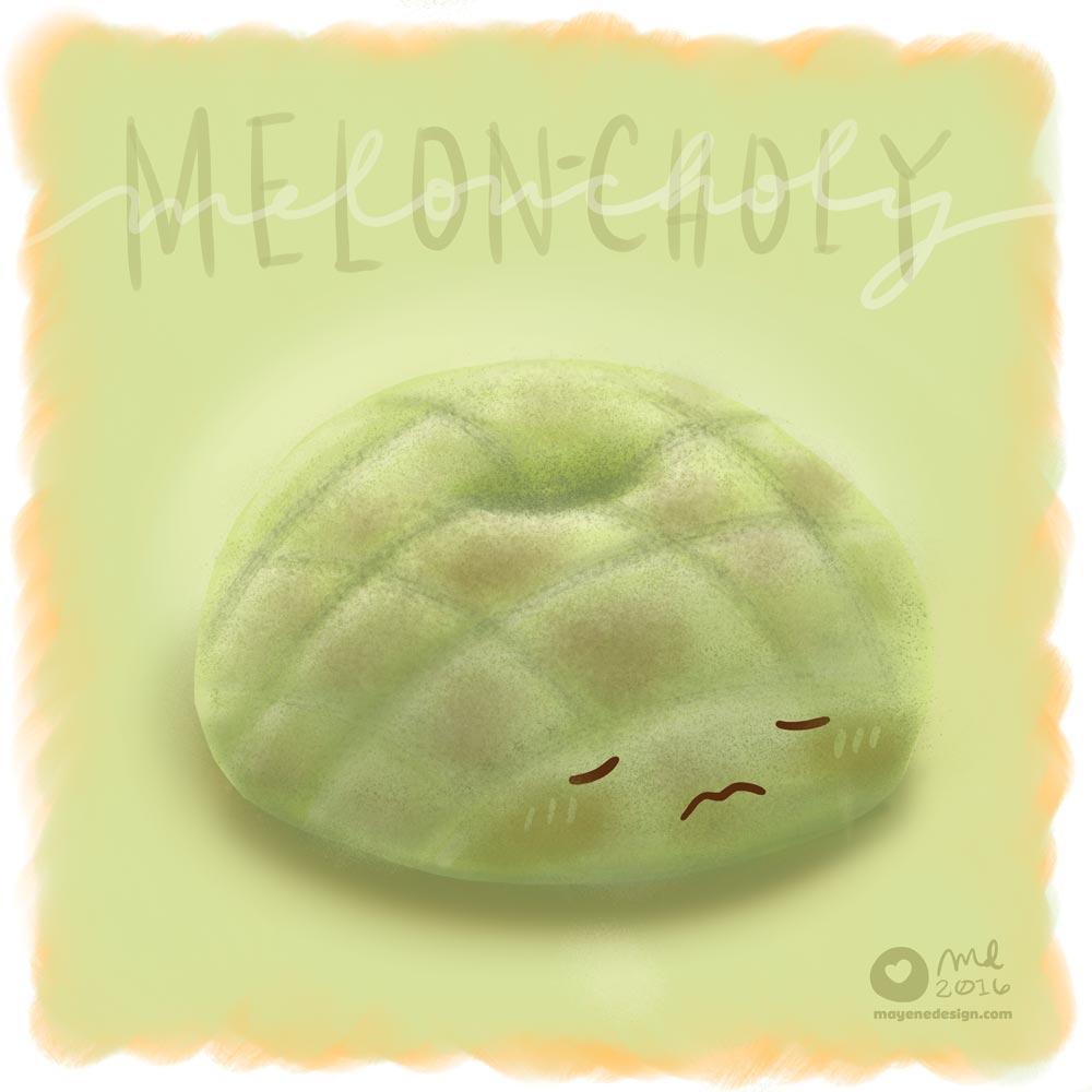 DonutSketch_Melonpan