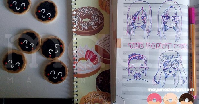TheDonutLoverBrainstormSketches