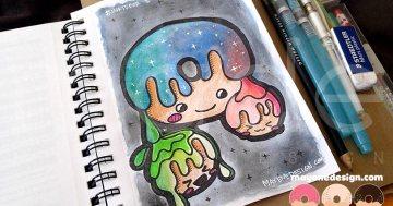 inktober-galaxydonuts1