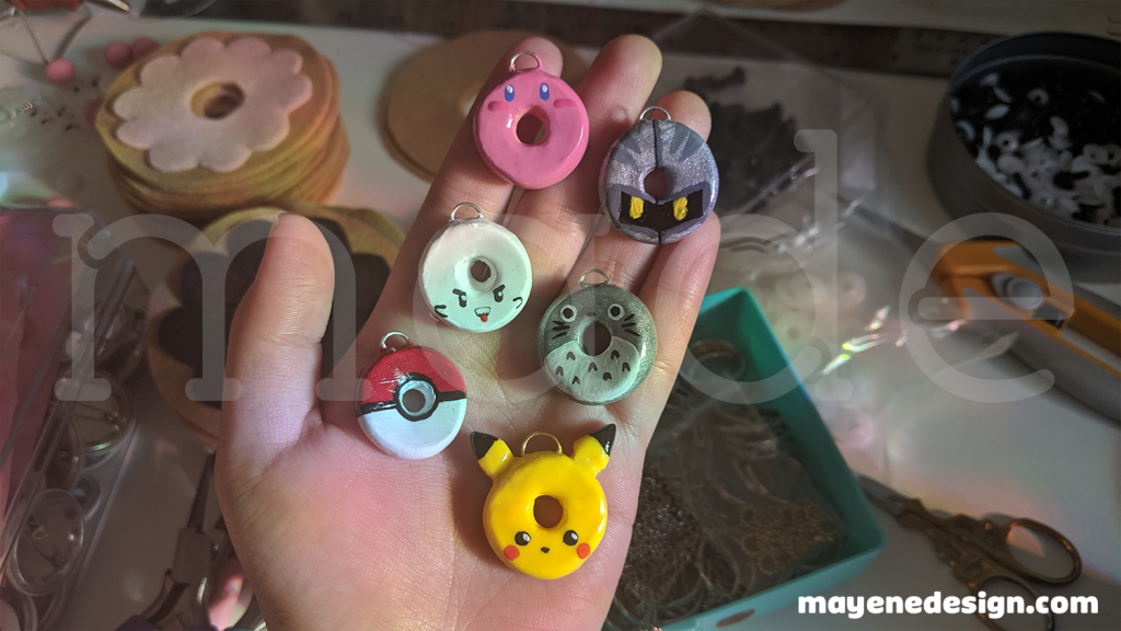 clay-videogamedonuts-wip